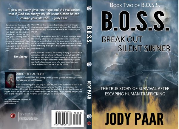 break out silent sinner BOSS Book